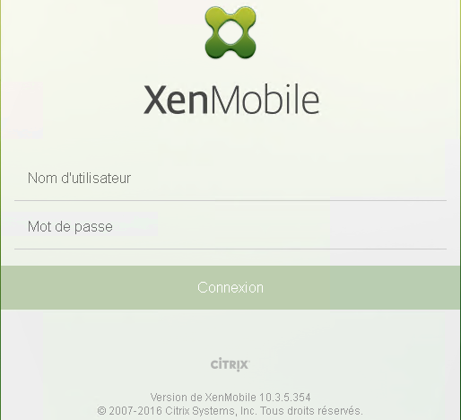 Citrix XenMobile 10.3.5.354